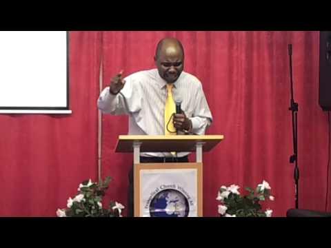 ECWA Church London 'Taking a godly risk' (Rev. G.O. Bakare)