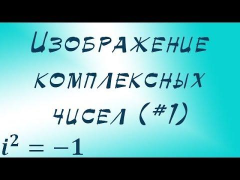 Как изобразить комплексное число на комплексной плоскости