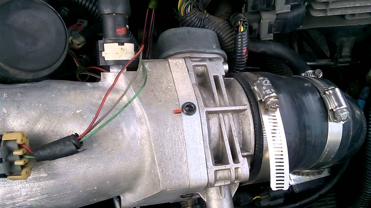 vacuum leak 06 ion redline youtube