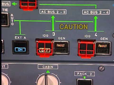 Airbus A340 CFM56 Engine - IDG Disconnection & Reconnection