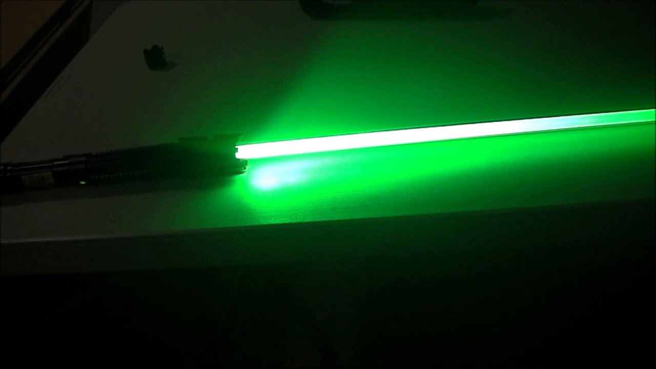 Wicked Lasers Laser Saber Review Youtube