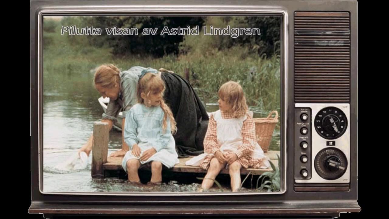 Pilutta Visan Av Astrid Lindgren Plipip Pjesma Od Astrid Lindgren