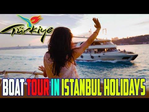 Amazing Boat Tour in Istanbul 2 Ladies 2 Men Holidays 2018