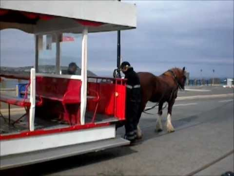 Isle of Man Transport: Douglas Promenade Horse Trams