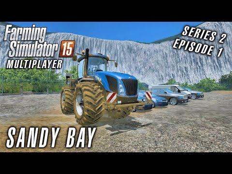 Multiplayer Farming Simulator 15 | Sandy Bay S2 Ep1