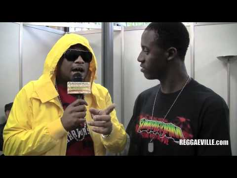 Romain Virgo interviews Gappy Ranks @ SummerJam 7/3/2011