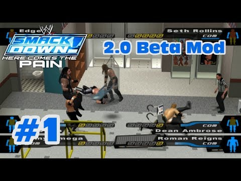 WWE SmackDown! Here Comes The Pain 2.0 Beta Mod: Matches #1