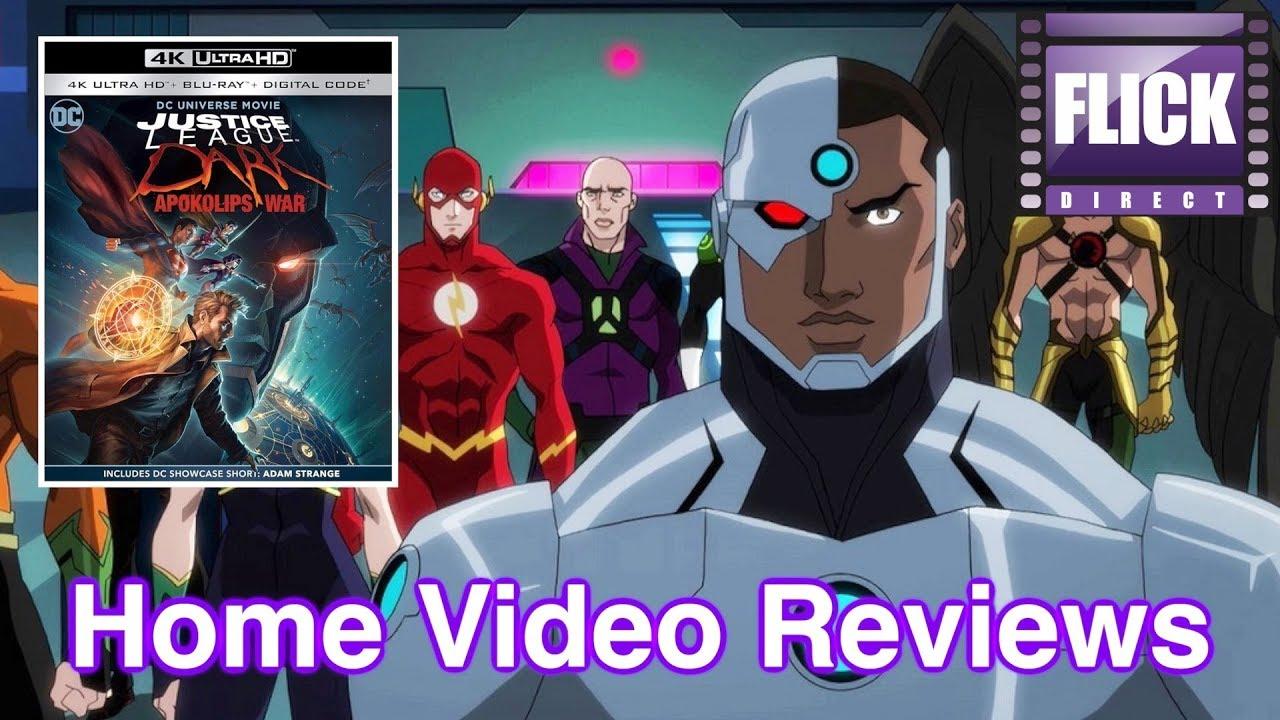 Justice League Dark Apokolips War 4k Uhd Home Video Reviews Youtube