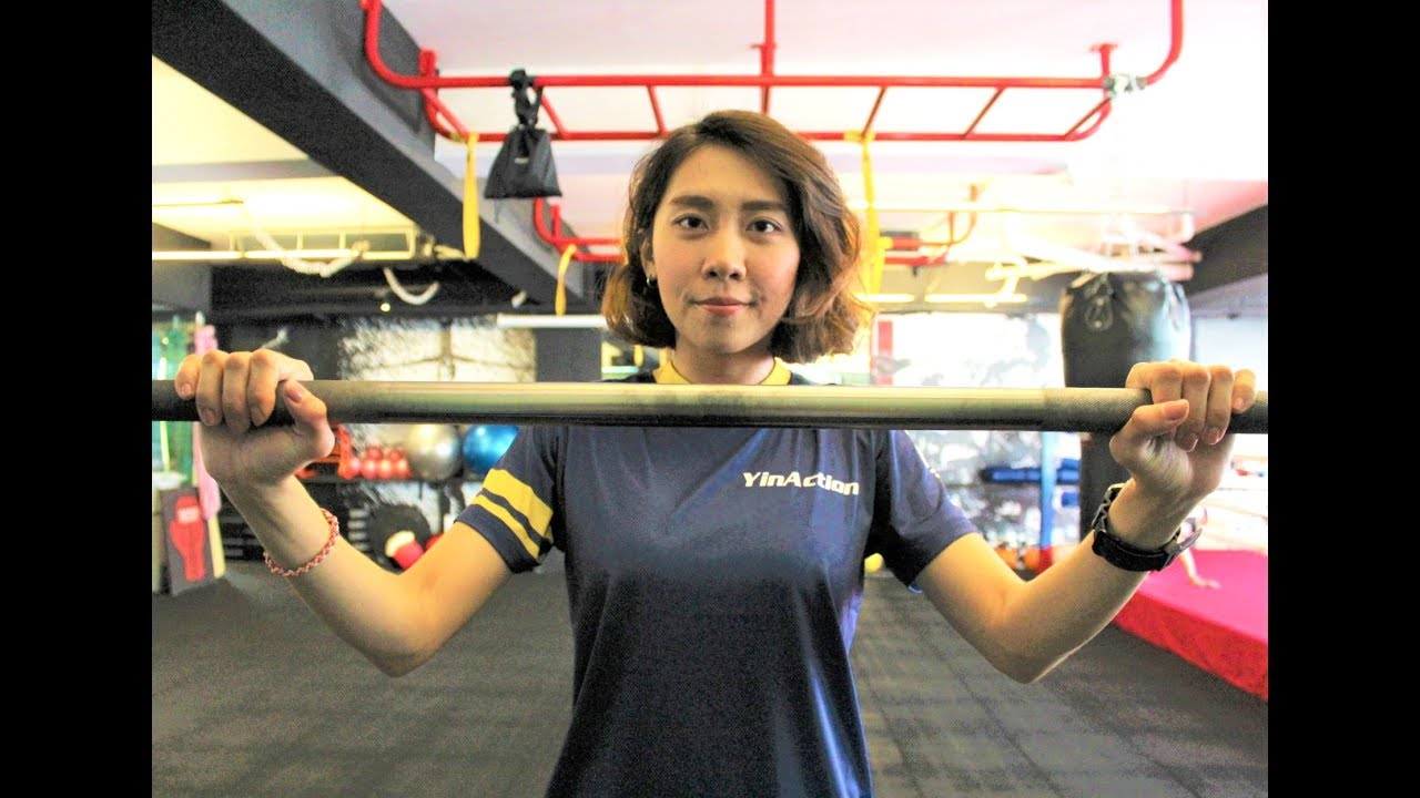 鳳山Yin Action行動體育課女健身教練-游家怡 - YouTube