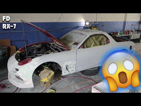 MAJOR FD RX-7 BUILD UPDATE (ENGINE + PAINT ARE ALMOST READY!)