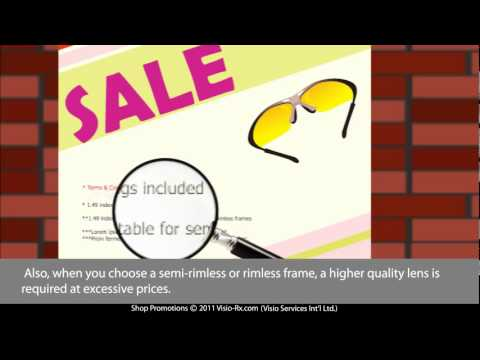 59012ba2a5 Optical Shop Promotions  Bait and Switch. How Opticians Lure You ...