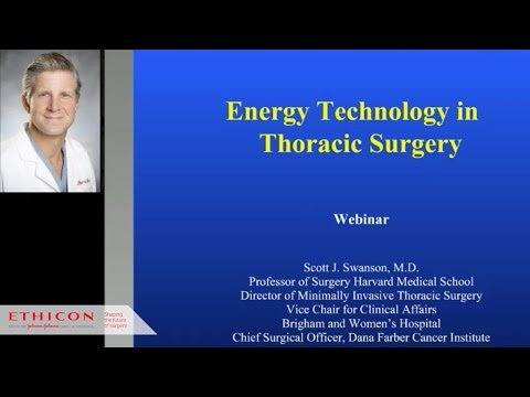 Hot Topics in Thoracic Surgery: The Use of Ultrasonic Energy in VATS Surgery
