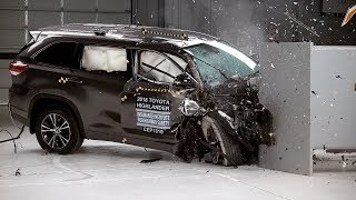 IIHS Passenger-side Small Overlap Front Crash Tests - Midsize SUVs
