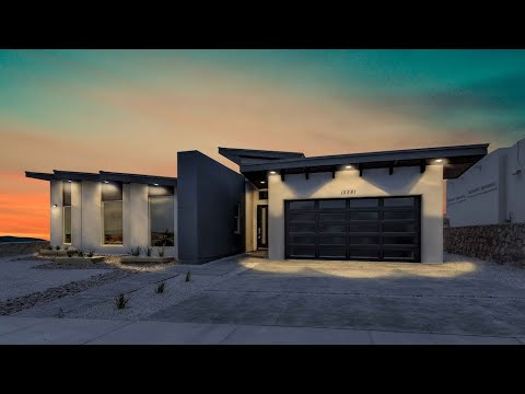 Icon Custom Builder El Paso Texas | Modern Architecture Design $363K | 2,368 Sqft | 4 Beds | 3 Baths