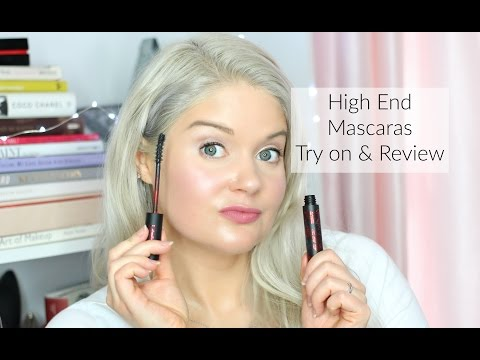 High End Mascaras   Try on & Review