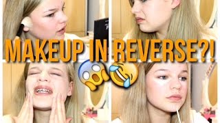 Makeup In Reverse Challenge!!~lush leah