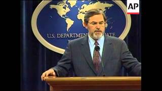 USA: STATE DEPARTMENT ESTRADA PRESS CONFERENCE