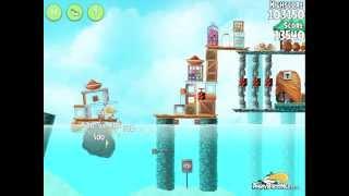 Angry Birds Rio High Dive Level 20 Mighty Eagle Walkthrough