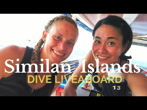 MY LIVEABOARD VACATION  | SCUBA DIVING SIMILAN ISLANDS