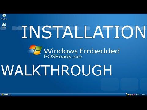 Windows XP PosReady 2009 Review and Installation Walkthrough