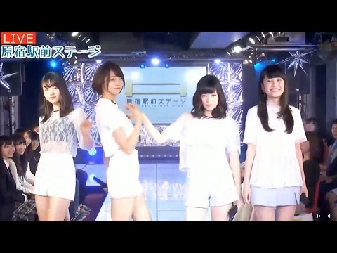 20170406 AbemaTV 原宿駅前ステージ#43⑥ 原宿乙女トーク.