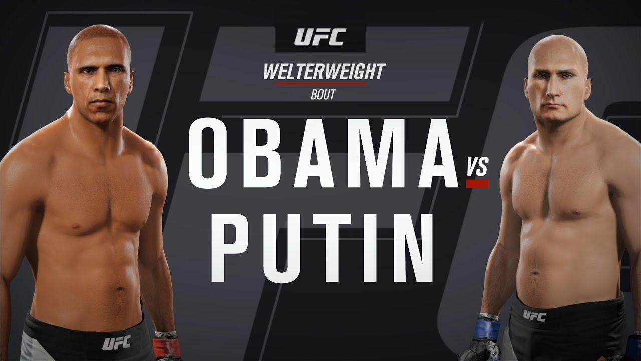 EA Sports UFC 2 - BARACK OBAMA vs VLADIMIR PUTIN ...
