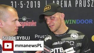 Michał Pietrzak chętnie zawalczy z Bobrowskim o pas Babilon MMA