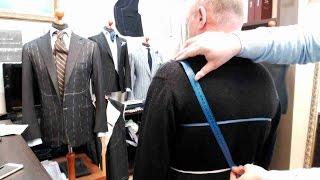 Правильное снятие мерок на мужской пиджак. Выпуск №1.