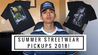 NEW SUMMER STREETWEAR PICKUPS 2018! #2 (Shorts, Graphic Tees, Cropped Pants, Slides & More!)