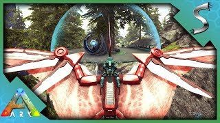 TEK TREEHOUSE OUTPOST! TREE PLATFORM WITH A BUILT IN SHIELD! - Ark: Survival Evolved [S3E129]