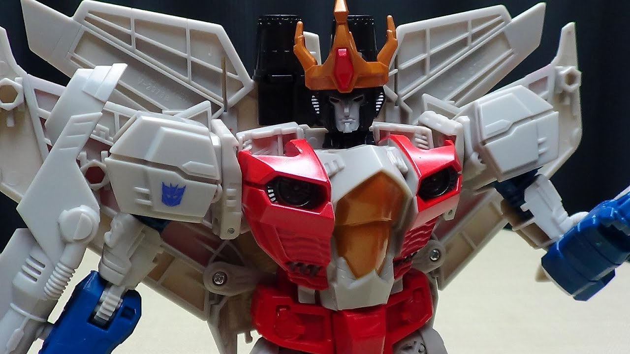 Generations Combiner Wars Leader Starscream Emgos Transformers