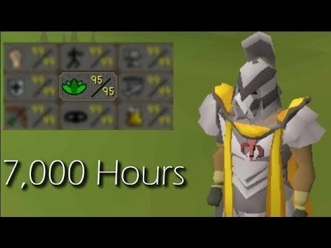 3 Years and 7,000 Hours have led up to this one skill (Ultimate Ironman)