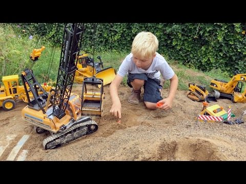 BRUDER TOYs Tunnel LONG PLAY ♦ BRUDER Truck recovery in Jack's bworld CONSTRUCTION