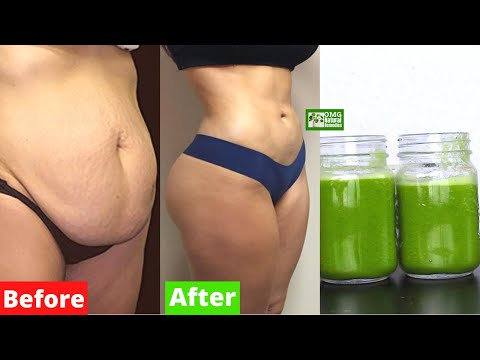 With this Strong Fat Burning Juice  Lose Several Kilos and Maintain a Flat Belly