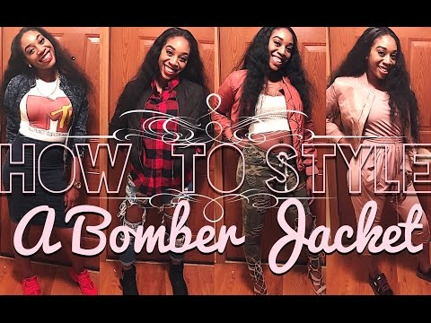 How To Style A Bomber Jacket!