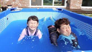 [30분] 라임의 젤리베프 수영장과 파자마삼총사 키즈카…