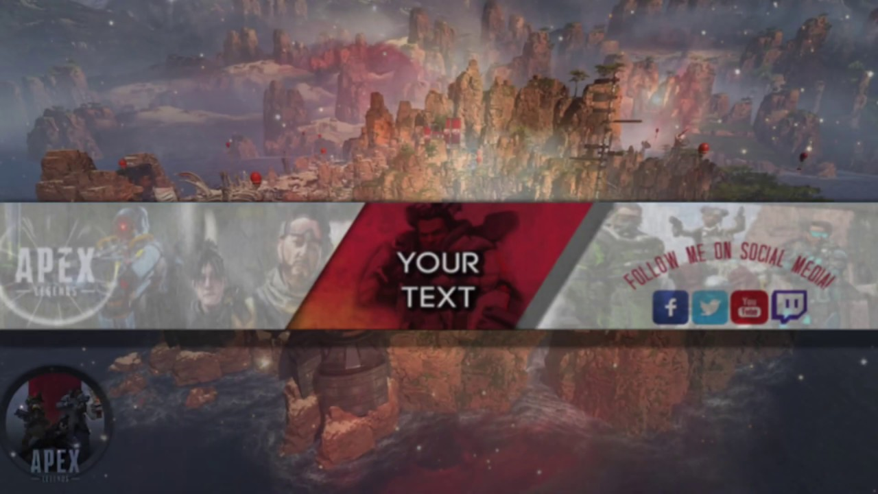 Apex Legends Custom Bannerchannel Art Design Hd Youtube