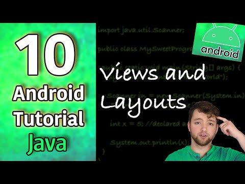 Android App Development Tutorial 10 - Views and Layouts | Java thumbnail