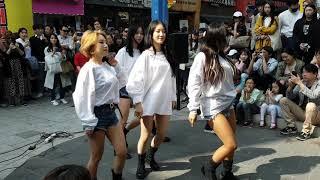 180429 #댄스팀 UA 01 - Likey @홍대Busking[직캠,Fancam] by shinlim