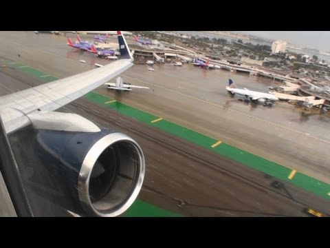 Awesome Engine Sound!!!  Incredible HD 757 Takeoff from San Diego California!!!