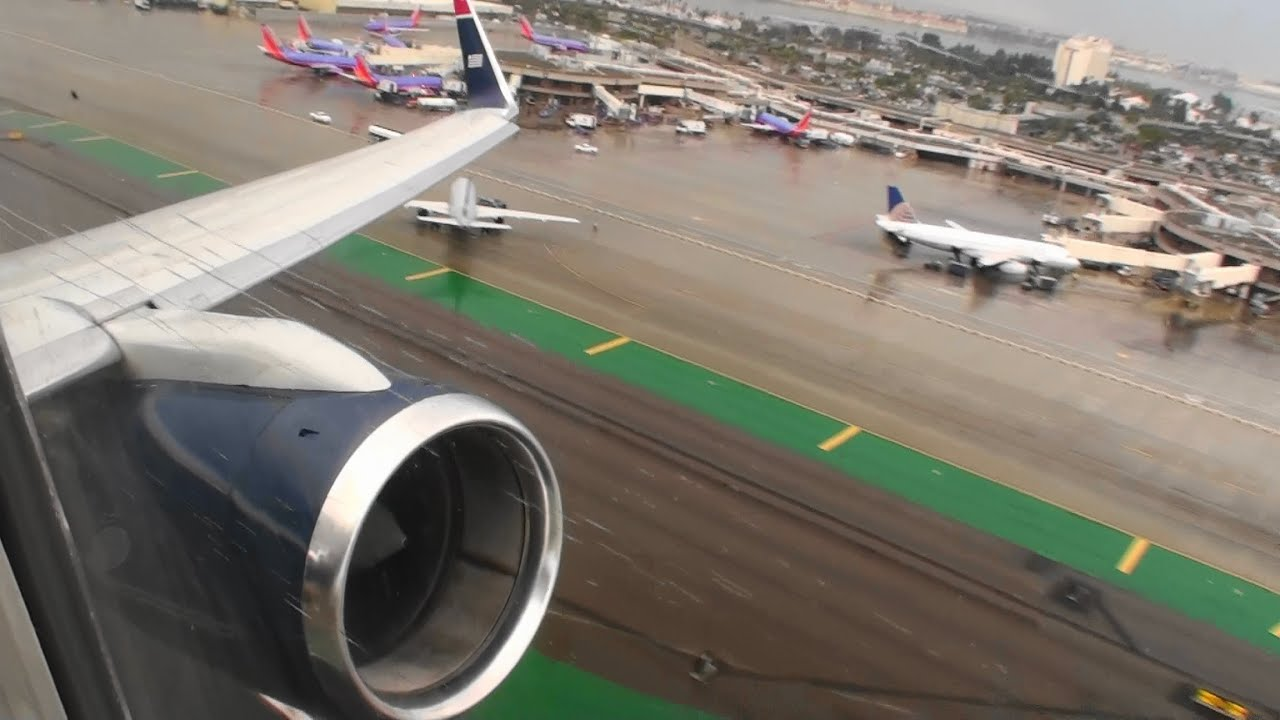 Engine Take Off : Awesome engine sound incredible hd takeoff from san