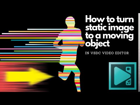 How To Turn Image To A Moving Object| Image Scrolling Effect On VSDC