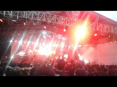 Kryptos live at Bangalore Open Air 2017