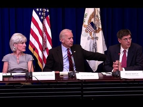 "Vice President Biden Hosts ""Campaign to Cut Waste"" Cabinet Meeting"