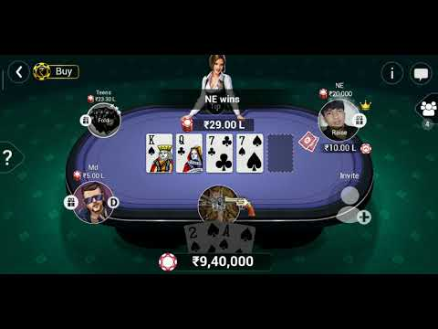 POKER LAST CARD GAME 600 CR TEEN PATTI GOLD(Rafsans vai) - 동영상