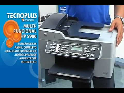 multifuncional hp officejet j5780 10145 youtube rh youtube com