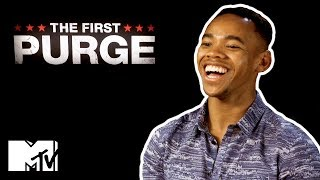 Joivan Wade Goes Speed Dating | The First Purge | MTV Movies