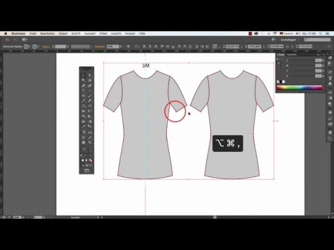 Illustrator – T-Shirt Tutorial -Teil 1 ( German / Deutsch )