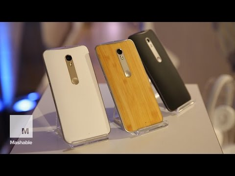 Hands on with the Moto X Style | Mashable