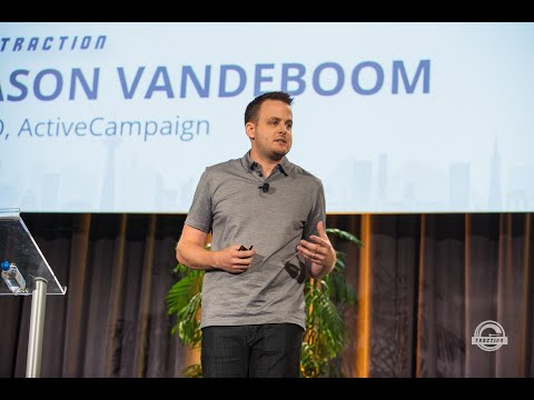 Jason VandeBoom, ActiveCampaign - 5 Growth Lessons From Scaling To $75+ Million In Revenue